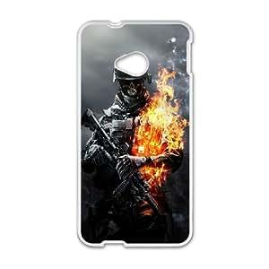 Personalized Creative Battlefield Slim-fit Design For HTC One M7 PQ54Q2339