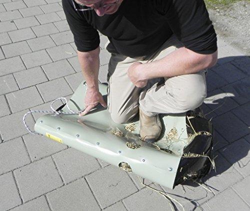 HeuToy Original vom Erfinder (aufgebaut),das bessere Heunetz,Heusack,Heuraufe - 4