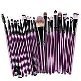 Set di 20giochi di trucco morbido polvere di fondotinta Ombretto Eyeliner Rossetto Pennelli di Trucco New-3 immagine