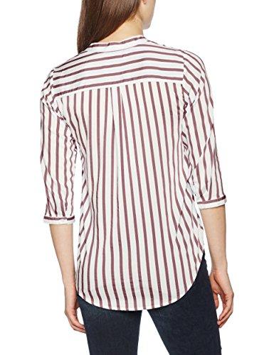 Vero Moda, Blouse Femme Multicolore (Snow White Stripes:Light Blue)