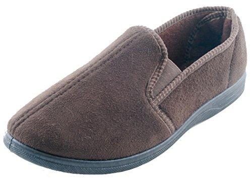 Slumberz, Pantofole Da Uomo Marrone