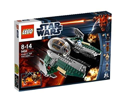 LEGO Star Wars 9494 - Anakins Jedi Interceptor (Star Wars Lego-jedi Mit)