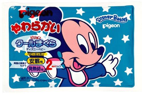 Pigeon oreiller frais Disney Baby Mickey (Japon import / Le paquet et le manuel sont ?crites en japonais)
