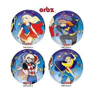 "Amscan International-332290115""DC SUPER HERO Niñas Orbz claro globo en forma de"""
