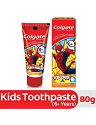 Colgate Anticavity Kids Spiderman Toothpaste (6+ years), Bubble Fruit flavour - 80g