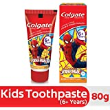 Colgate Kids Spiderman Toothpaste (6+ years), Bubble Fruit flavour – 80g