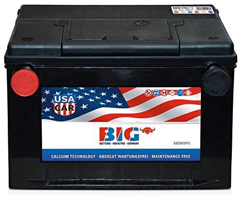 US Autobatterie 12V 85Ah USA Car Starterbatterie Seitengewinde 80Ah 75Ah 72Ah