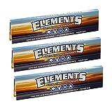3X Elements Thin Rice King Size Slim Rol...