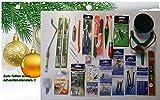 Adventskalender Karpfen (5) 24 Einzelteile Anglergeschenk Karpfenzubehör Angelset