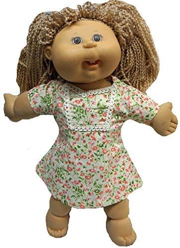 Doll Clothes Superstore Campo de flores para muñecas de parche de repollo