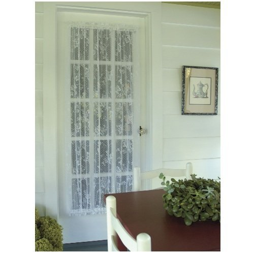 Heritage Lace English Ivy 48-Inch Wide by 45-Inch Drop Door Panel, White by Heritage Lace -