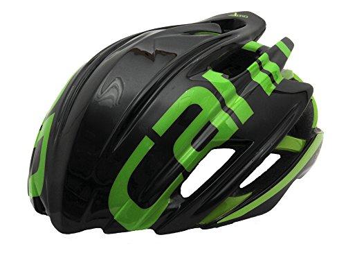 Cannondale Cypher Aero Rennrad Fahrrad Helm schwarz/grün 2017: Größe: S/M (52-58cm)