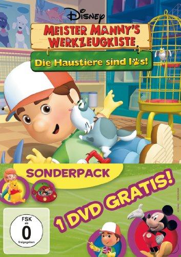 Meister Mannys Werkzeugkiste - Die Haustiere sind los! / Spiel & Spaß mit ... [2 DVDs]