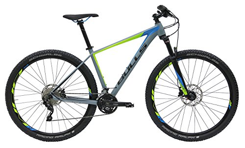 Bulls Herren Fahrrad 29 Zoll grau Copperhead 3 Mountainbike - Shimano Deore XT Schaltwerk 30 Gänge -