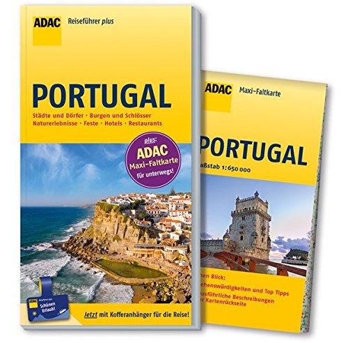 Preisvergleich Produktbild ADAC Reiseführer plus Portugal: mit Maxi-Faltkarte zum Herausnehmen