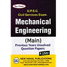 UPSC Civil Services Exam Mechanical Engineering (Main) (2018) Edition by New Vishal publication