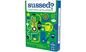 SUSSED Emotional Intelligence - The Empathetic Who Knows Who Best Card Game - Mindful fun