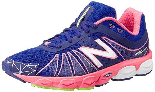 New Balance Athletic Sandalen (New Balance Damen W890 B V4 Laufschuhe Blau (BP4 Blue/PINK) 40.5 EU)