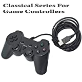 #7: Storite USB Wired Gaming Controller Gamepad Support Real Vibration For PC (Windows 9X/2000/XP) & PS3 - [Black]