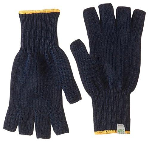 Minus33 Handschuhe aus Merinowolle, fingerlos, Herren Damen, 6610, Navy, L