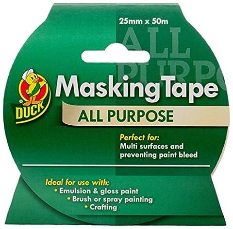 Duck All Purpose Masking Tape - 25 mm x 50