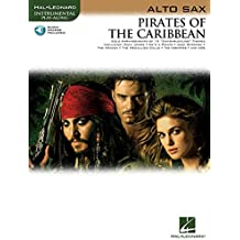 Klaus Badelt Pirates Of The Caribbean (Alto Sax) Asax Book/Cd (Hal Leonard Instrumental Play-Along)