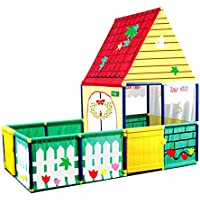 Beneyond Play House with a Fence/Indoor or Outdoor/Best Gifts for Kids to Have Fun in a Big Space.