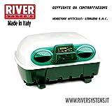 INCUBATRICE BREVETTATA PROFESSIONALE DIGITALE ET24 AUTOMATICA RIVER SYSTEMS