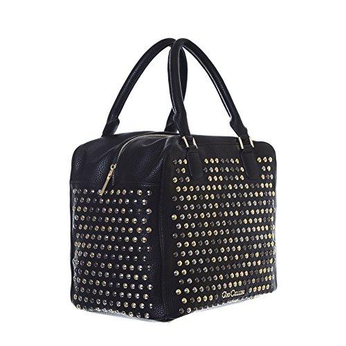 GIO CELLINI - Femme sac a bandoulier duffle bowling b204 Noir