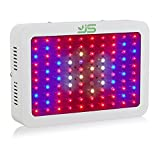 JS Products LED Pflanzenlampe Vollspektrum 300W Pflanzenlicht Grow Light UV IR Rot&Blau Wachstumslampe Pflanzenleuchte für Gewächshaus,Zimmerpflanzen,Gemüse Blumen und Pflanze,EU Plug