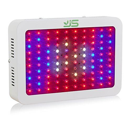 JS Products LED Pflanzenlampe,Doppel Chips Full Spectrum Pflanzenlicht Rot&Blau LED Wachstumslampe Pflanzenleuchte für Zimmerpflanzen/Gemüse /Blumen und Gewächshaus Pflanze,EU