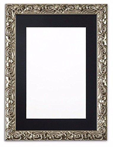 montato-antico-cuscino-ornate-spazzato-cornice-portafoto-cornice-poster-frame-con-supporto-su-misura