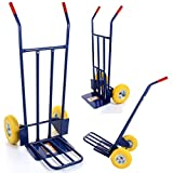 51mpkJ3iKQL. SL160  - BEST BUY# Marko Tools Exeter 600LB Sack Truck Heavy Duty Industrial Hand Trolley Warehouse Puncture Proof Reviews