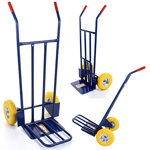 51mpkJ3iKQL - BEST BUY# Marko Tools Exeter 600LB Sack Truck Heavy Duty Industrial Hand Trolley Warehouse Puncture Proof Reviews