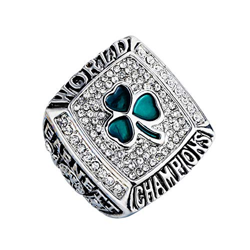 SHATANQ Kreative Mode Hipster Schmuck Rugby Champion Cup Gedenkring Super Wrist Champion Ring,Gold,11