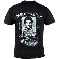 Camiseta PABLO Escobar. El PATRULLA DEL MAL.