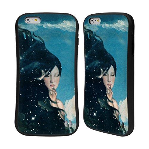 Ufficiale Paula Belle Flores La Mia Casa Da Sogno Spazio Surreale Case Ibrida per Apple iPhone 7 / iPhone 8 Donna Della Notte