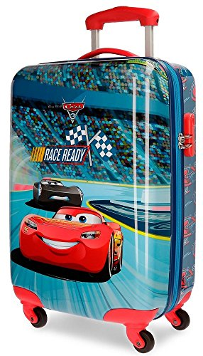 Disney Race Equipaje Infantil, 55 cm, 26 Litros, Multicolor Disney