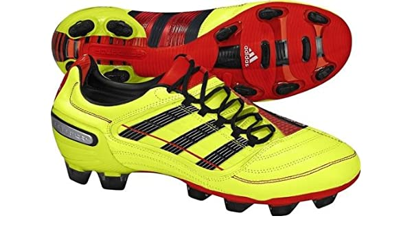 d4e40bf01 Adidas Predator X TRX FG U43818 Mens Football boots   Soccer cleats Yellow  7.5 UK  Amazon.co.uk  Shoes   Bags