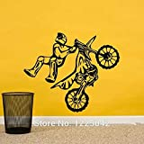 Stycars, Wall Stickers Motocross Wall Decal - Kids Wall Decals - Vinyl Wall Decal Sticker [Size: Large]