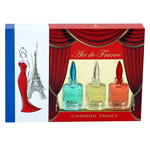 Charrier Parfums - Coffret 3 Parfums Charrier 'Air de France' 15ml