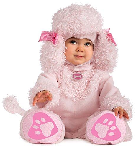 Entzückendes Rosa Pudel Baby Kostüm Gr. 68/74 = Größe (Baby Kostüme Pudel)