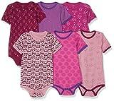 Care Baby - Mädchen Kurzarm-Body 3er und 6er Pack Pink (Light Rose 550), Herstellergröße: 68
