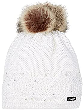 Eisbär Cap Cappa Serafina Lux con cappello di pelliccia artificiale