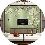 Tapete Experten der chinesischen TV-Hintergrund Wand Papier flower-and-bird Tapete Bedroom Living room3dthe Seamless, Video-Papier Wandbilder,