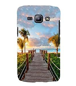PrintVisa Sea Lovely Pattern 3D Hard Polycarbonate Designer Back Case Cover for Samsung Galaxy J1 :: Samsung Galaxy J1 4G :: Samsung Galaxy J1 4G Duos :: Samsung Galaxy J1 J100F J100FN J100H J100H/DD J100H/DS J100M J100MU