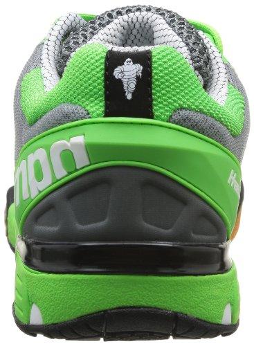 Kempa Hurricane Damen Handballschuhe Grau (grau/fluo grün/schwarz 02)