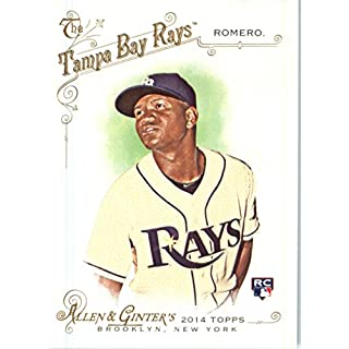 2014 Topps Allen & Ginter Baseball Card # 299 Enny Romero, Tampa Bay Rays RC