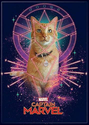 Boy Gute Kostüm College - Ata Boy Captain Marvel Movie Magnet, 6,4 x 8,9 cm, für Kühlschrank und Schließfächer, Sortiment 2 Stück 2.5