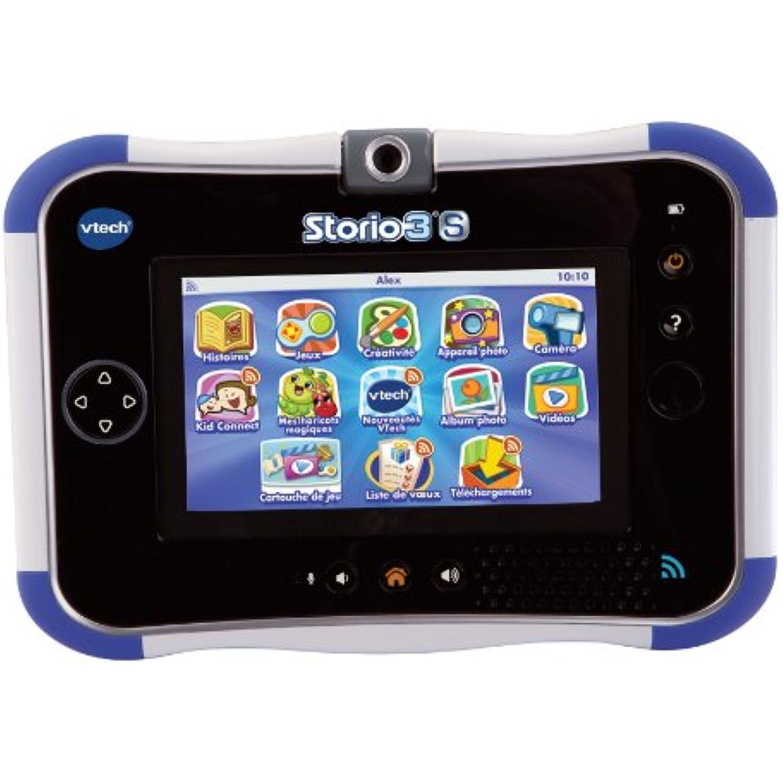 Vtech - 158805 - Jeu électronique - 3s Tablette tactile - Storio 3s - - Bleu - Sans Power Pack 2ea73f